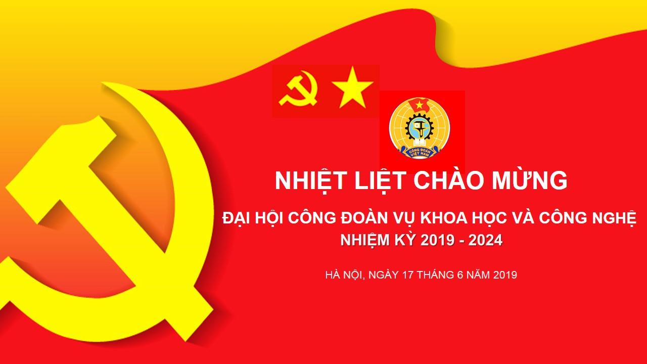 Đại hội Công đoàn Vụ KHCN