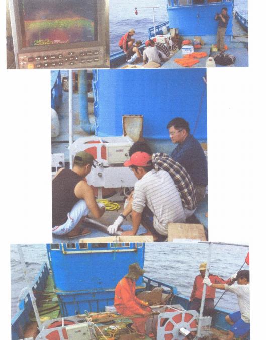 Một số kết quả nghiên cứu KHCN nổi bật - Thử nghiệm trên biển